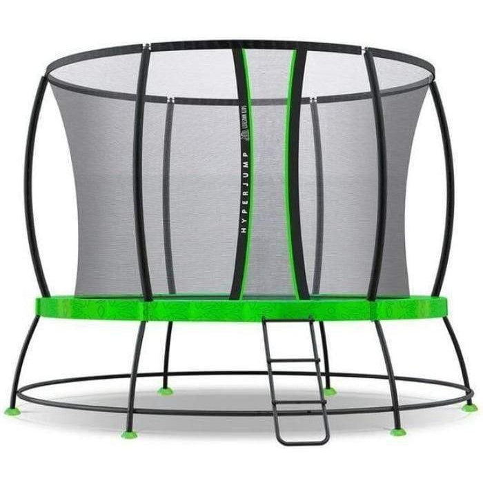 Outdoor Toys 8ft Hyperjump3 Spring Trampoline Set