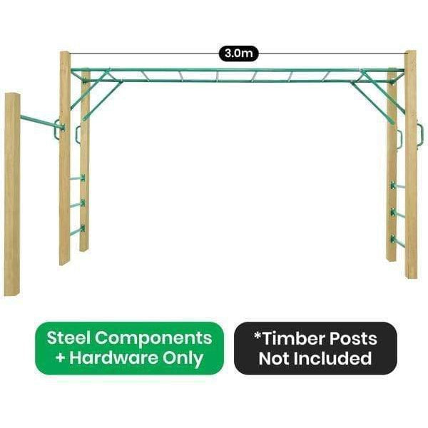 Outdoor Toys Amazon Monkey Bars Only (3.0m)