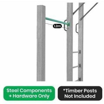 Outdoor Toys Amazon Monkey Bars Swing Bar only (1.2m)