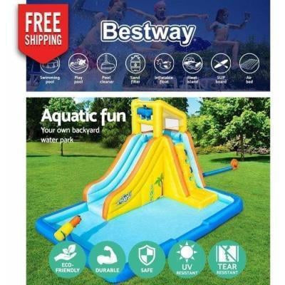 Outdoor Toys Bestway Inflatable Water Slide Mountain