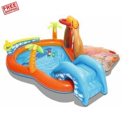 Outdoor Toys Bestway Lava Lagoon Play Centre