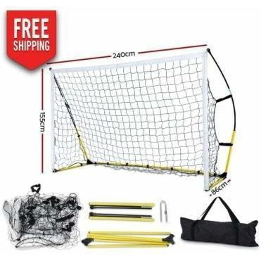 Outdoor Toys Everfit Portable Soccer Football Goal Net Kids Outdoor Training Sports