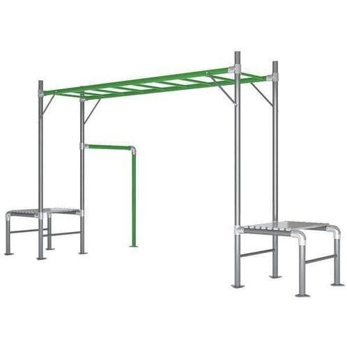 Outdoor Toys Junior Jungle Monkey Bar Module