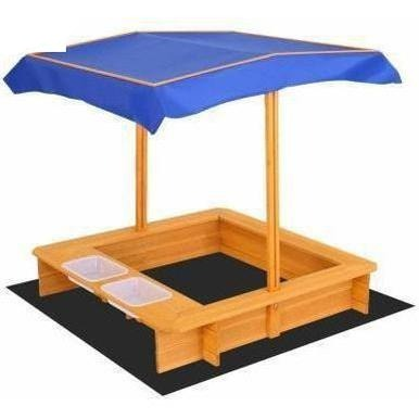 Outdoor Toys Keezi Outdoor Canopy Sand Pit