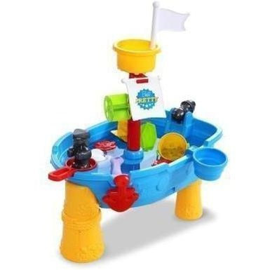 Outdoor Toys Keezi Pirate Ship Sand and Water Table