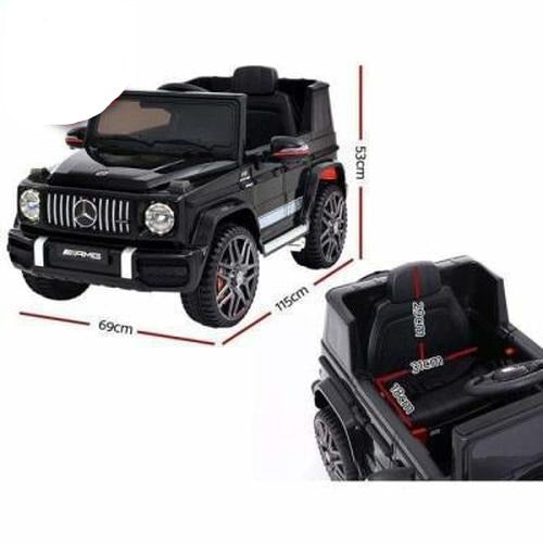 Outdoor Toys Mercedes Benz Licensed AMG G63 Kids Ride On Car 12V Black