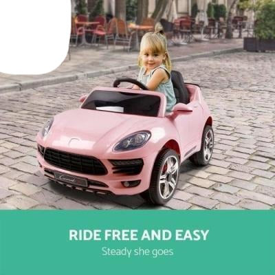 Outdoor Toys Rigo Kids Ride On Car - Pink