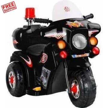 Outdoor Toys Rigo Kids Ride On Motorbike Black
