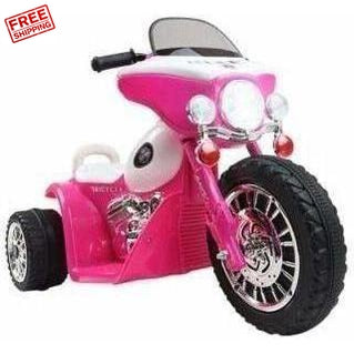 Outdoor Toys Rigo Kids Ride On Motorbike Motorcycle Toys Pink
