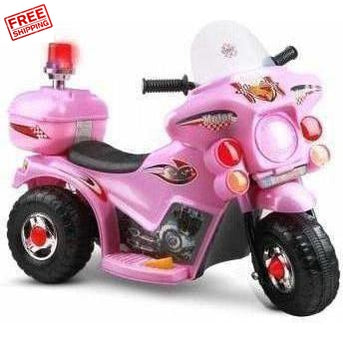 Outdoor Toys Rigo Kids Ride On Motorbike Pink