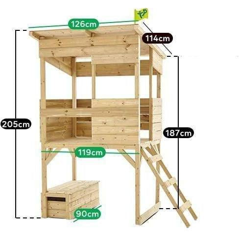 Outdoor Toys TP Toys Treetops Tower Fort Cubby House