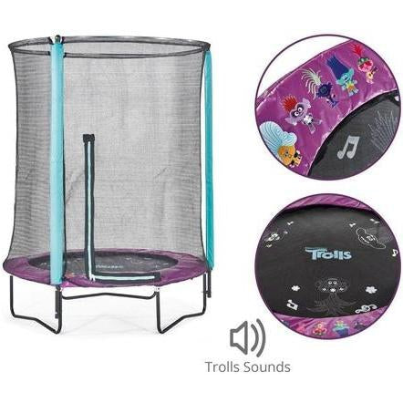 Buy Trolls 4.5ft Trampoline with Sound