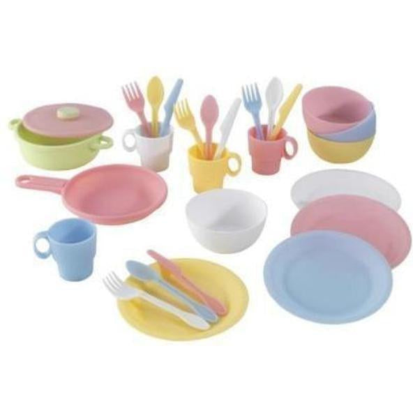 Pastel Cookware Playset 27-Piece