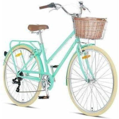 "Pomona Mint Ladies 17"" Retro Bike"
