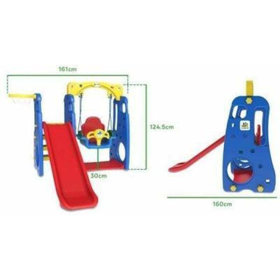 Ruby Todder Swing and slide set 4 in 1