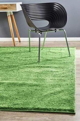 SHAG Soho Awesome Shag Floor Rug Lime