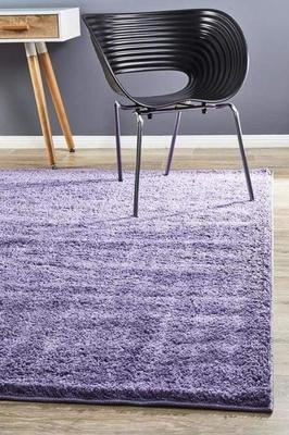 SHAG Soho Awesome Shag Floor Rug Purple