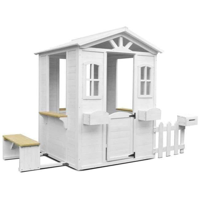 Teddy Cubby House in White
