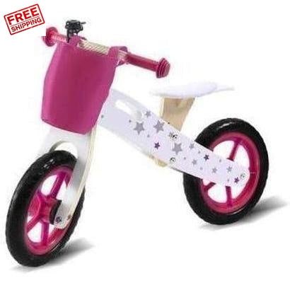 Bopeep Kids Wooden Balance Bike