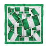 Nigerian Flags Silk Scarf