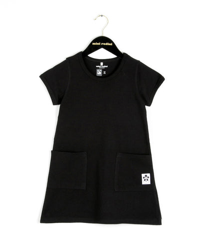 Mini Rodini Basic Dress in Black