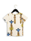 Mini Rodini Totem Tee in Beige