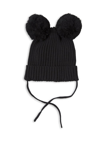 Mini Rodini EAR Hat in Black