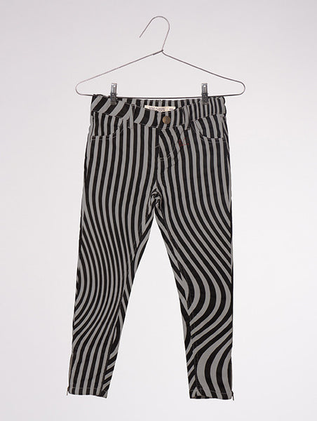 "Bobo Choses ""Hypnotized"" Slim Fit Trousers in Grey"