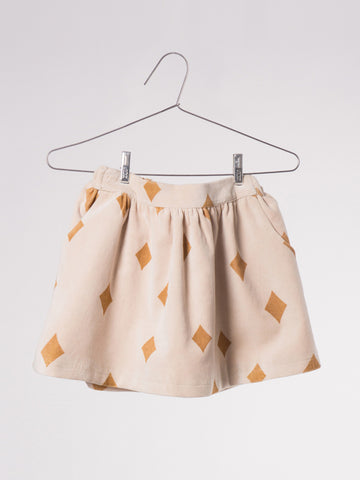 "Bobo Choses ""Diamond Sky"" Velvet Skirt"