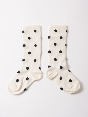 Bobo Choses Spotted Cream Short Socks