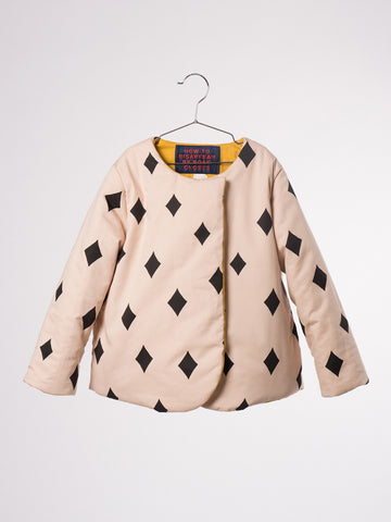 "Bobo Choses ""Diamond Sky"" Reversible Jacket"
