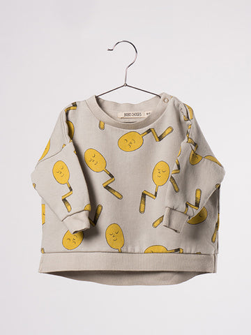 Bobo Choses Spoons Baby Sweatshirt