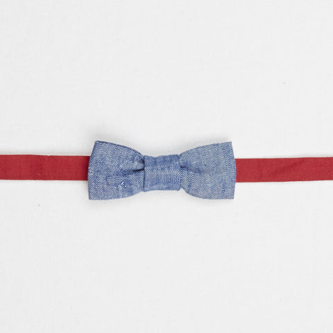 Bow Tie in Chambray by Annaliv