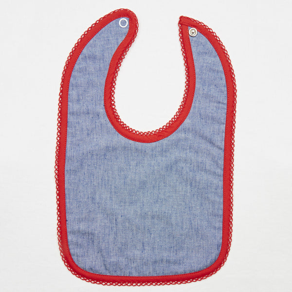 Bib in a Box in Chambray by Annaliv