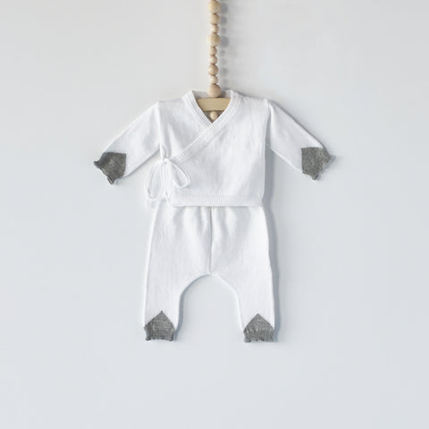 Bacabuche Newborn Gift Set in White