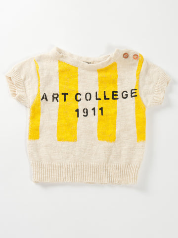 "Bobo Choses ""Art College"" Knitted Tee"