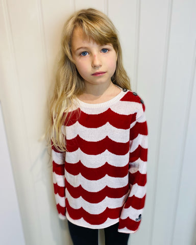 Bobo Choses Striped Sweater