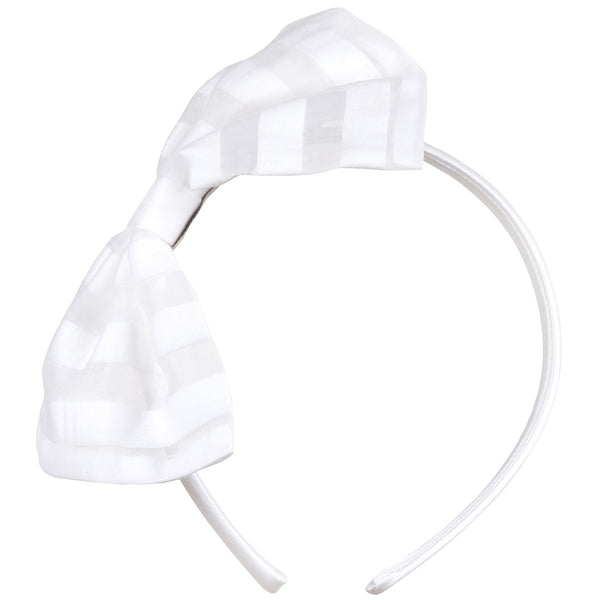 Milk Bottle Bow Hairband