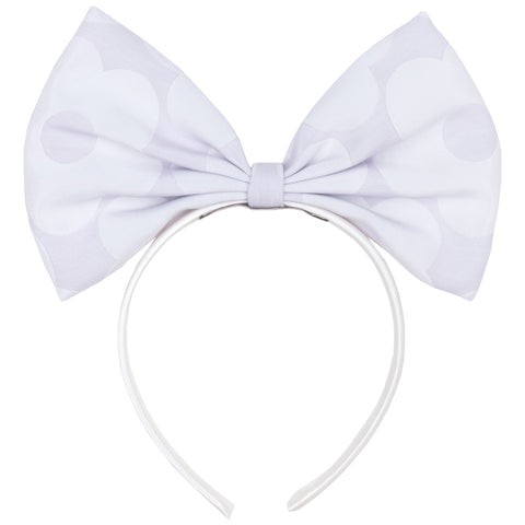 Parma Violet Bow Hairband