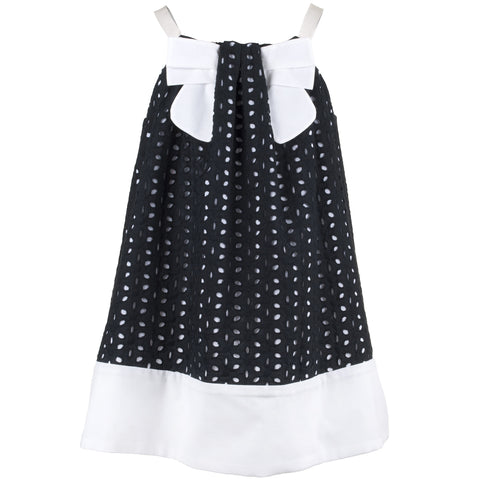 Monochrome Broderie Sundress