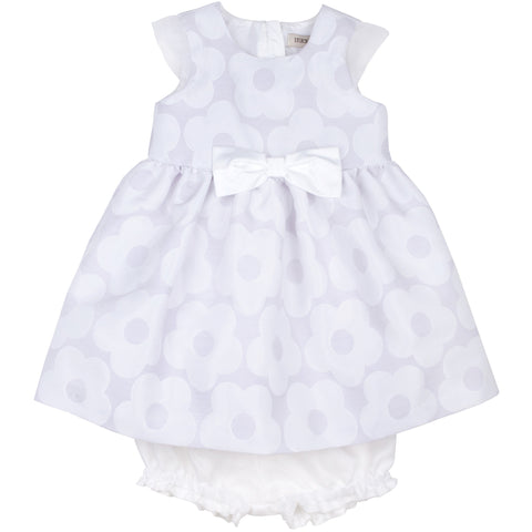 Baby Buttercup Jacquard Bodice Dress