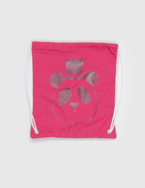 Mini Rodini Panda Bag in Pink
