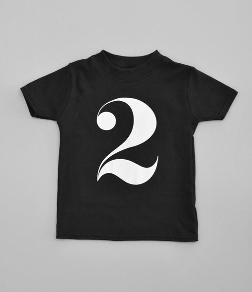 2 T-Shirt by Nor-Folk (black)