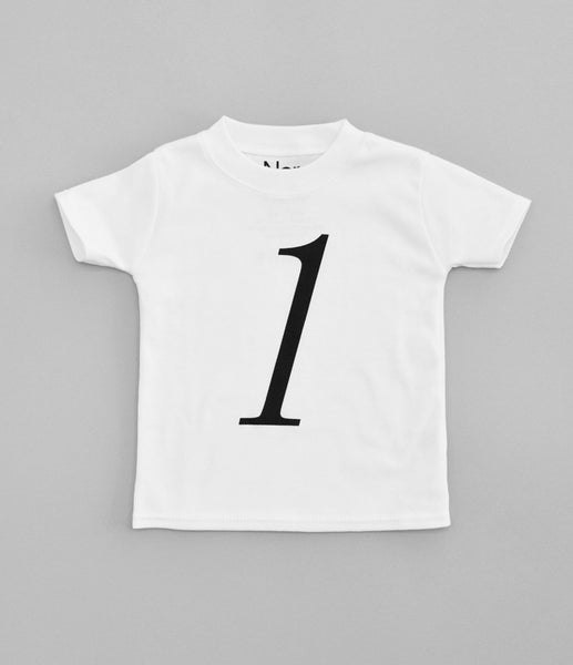 1 T-Shirt by Nor-Folk (white)