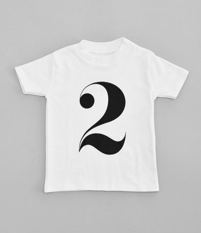 2 T-Shirt by Nor-Folk (white)