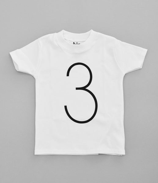 3 T-Shirt by Nor-Folk (white)