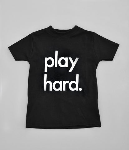 """play hard"" T-Shirt by Nor-Folk"