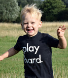 """play hard"" T-Shirt by Nor-Folk lifestyle"