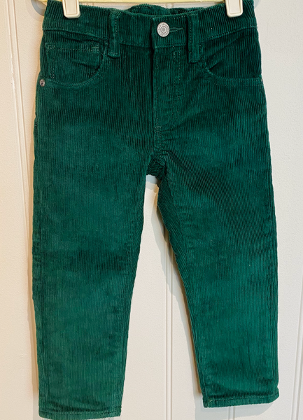 GAP Green Corduroy Trousers