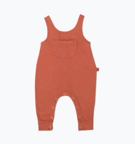 My Little Cozmo Burnt Orange Dungarees